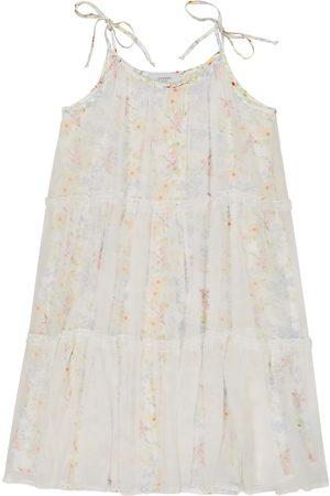 PAADE Iris floral silk chiffon dress