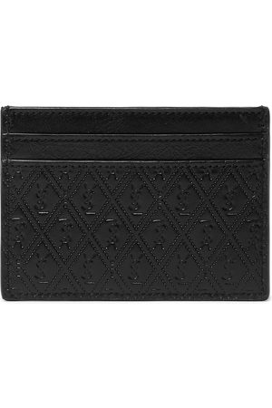 Saint Laurent Logo-Debossed Leather Cardholder