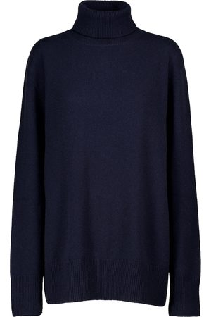 The Row Milina turtleneck wool and cashmere sweater