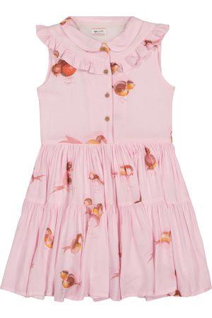 MORLEY Nelly bird-print dress