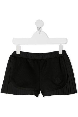 Moncler Logo-patch elasticated shorts