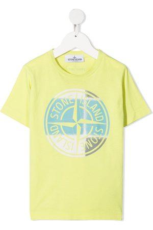 Stone Island Compass logo-print cotton T-shirt