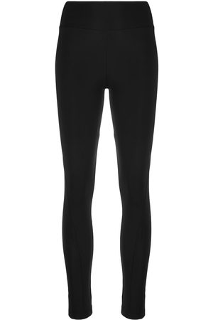 Y-3 Women Leggings - Logo-print stretch-fit leggings