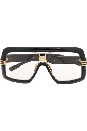 Gucci Square-frame oversized glasses