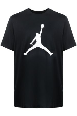 Nike Air Jordan logo-print cotton t-shirt