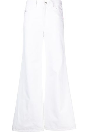 Marc Jacobs Women Wide Leg Pants - The Flared mid-rise trousers