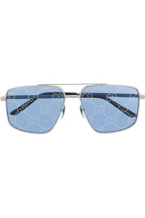Gucci Men Sunglasses - GG-lens square-frame sunglasses