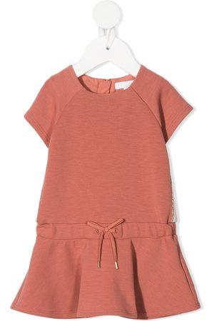Chloé Baby Casual Dresses - Ruffled short-sleeved midi dress