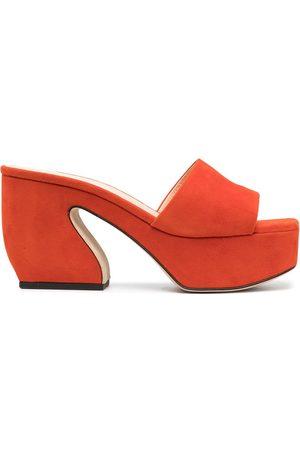 Sergio Rossi Slip-on heeled sandals
