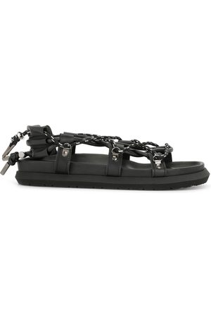 SACAI Rope strappy flat sandals