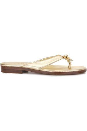CHANEL Women Flats - CC turn-lock flat sandals