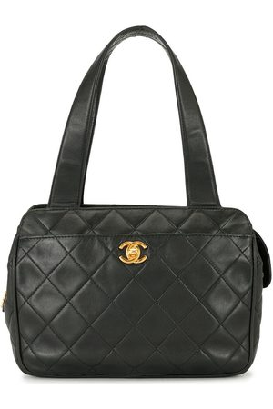 CHANEL 1997 diamond quilted CC tote bag