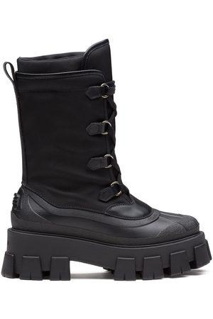 Prada Monolith 55mm combat boots