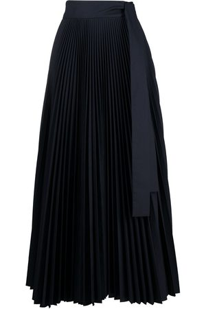 P.a.r.o.s.h. High-waisted pleated maxi skirt