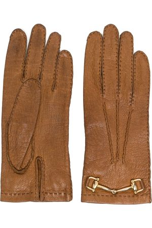 Céline Women Gloves - 1970s pre-owned horsebit-detail gloves
