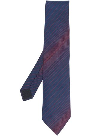 Hermès 2000s diagonal-stripe silk tie