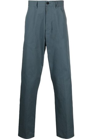 Maison Margiela Men Chinos - Straight-leg cotton chinos