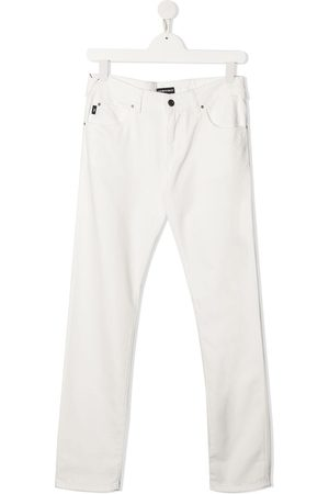 Emporio Armani Boys Chinos - TEEN slim-cut chino trousers
