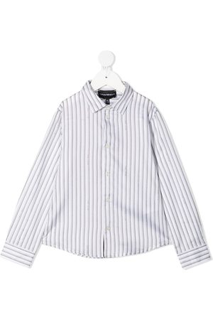 Emporio Armani Stripe-print cotton shirt