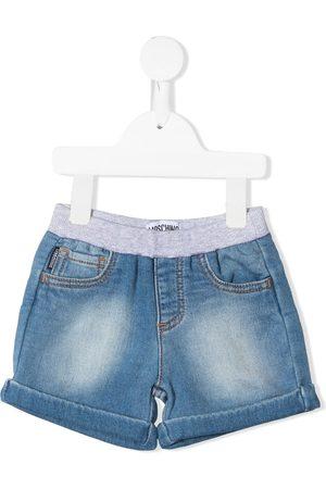 Moschino Baby Shorts - Teddy bear-patch denim shorts
