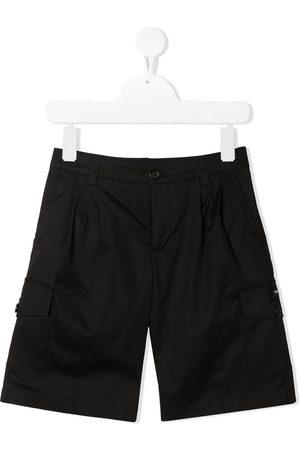 Dolce & Gabbana Logo patch cargo shorts