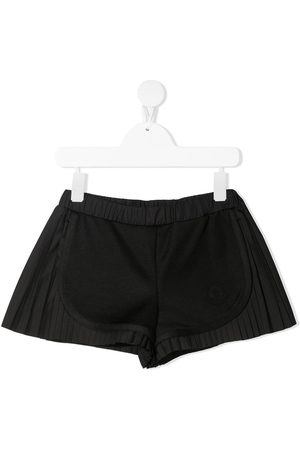 Moncler Panelled pleated shorts