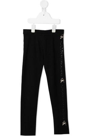 Calvin Klein Kids Logo print leggings