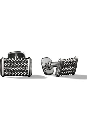 David Yurman Men Cufflinks - Chevron cufflinks