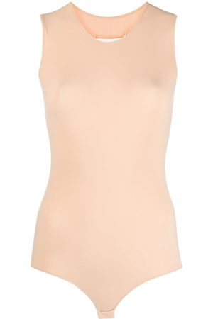 Maison Margiela Fitted sleeveless bodysuit