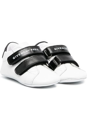 Givenchy Kids Leather touch-strap trainers