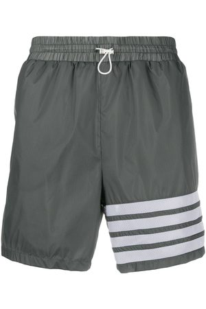 Thom Browne 4-bar running shorts