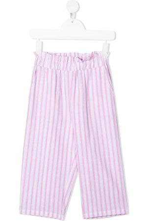 DOUUOD KIDS Striped elasticated trousers