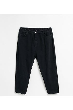 Reclaimed Vintage Inspired 89' tapered jean in washed curve