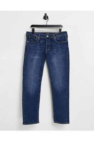 Jack & Jones Intelligence Mike relaxed fit jeans in mid wash
