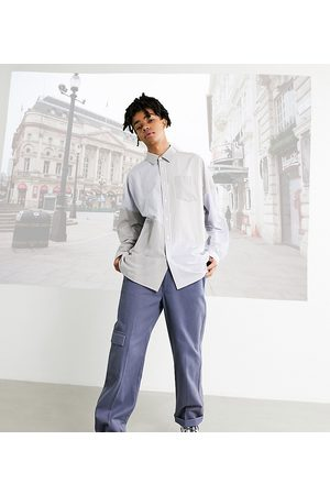 COLLUSION Straight leg trousers in twill