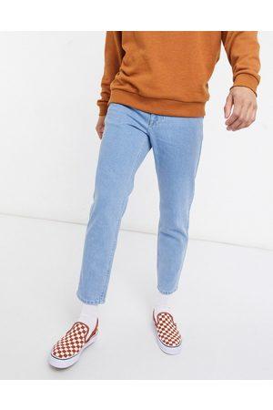 ASOS DESIGN Classic rigid jeans in light stone wash