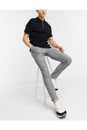 Jack & Jones Men Pants - Intelligence check trouser in grey