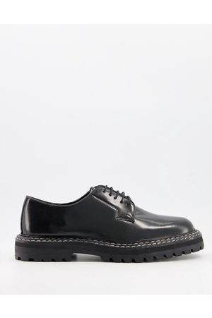 ASOS Men Shoes - Lace up shoes with chunky sole and contrast stitch