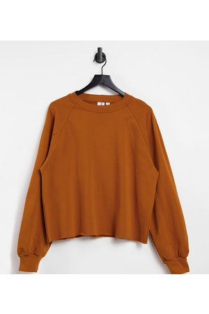 COLLUSION Women Oversized sweat in toffee