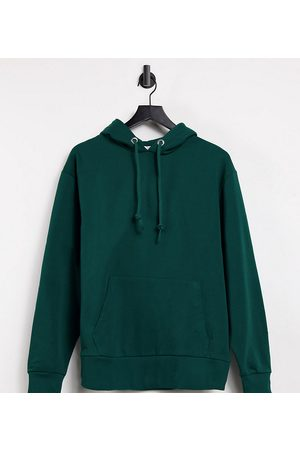 COLLUSION Unisex hoodie in emerald