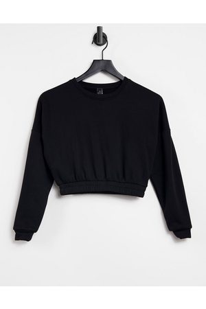 South Beach Women Sweatshirts - Oversized cropped sweatshirt in