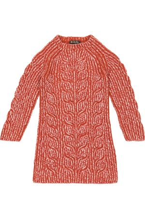 Loro Piana Cable-knit cashmere sweater dress