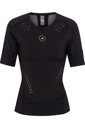 adidas Women T-shirts - TruePurpose stretch-jersey T-shirt