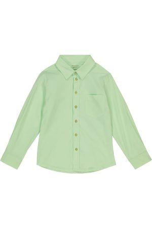 MORLEY Boys Tops - Benjamin cotton poplin shirt