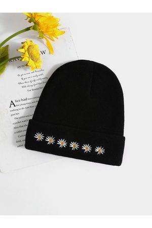 YOINS Daisy print Knit Hat