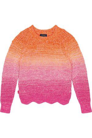 Ralph Lauren Gradient cotton sweater