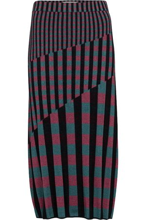 Diane von Furstenberg Rosa rib-knit midi skirt