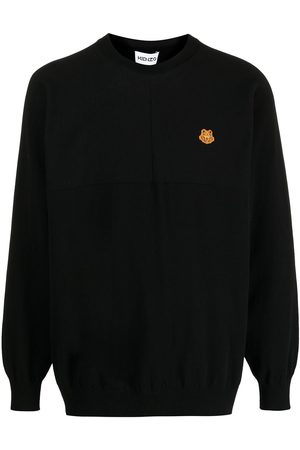 Kenzo Tiger-patch jumper