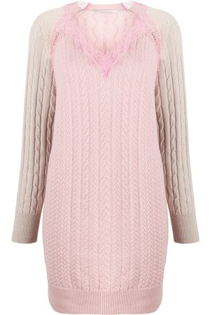 Stella McCartney Panelled knitted dress