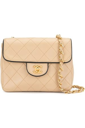 CHANEL 1990 diamond-quilted crossbody bag
